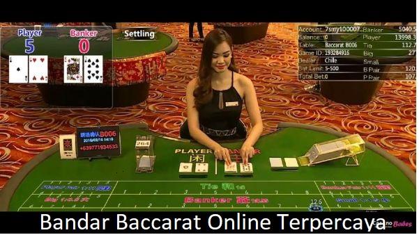 bandar baccarat online