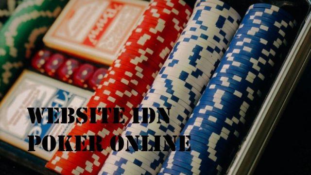 Situs Judi Poker IDN Indonesia